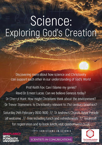 Science: Exploring God's Creation Poster