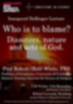 Who is to Blame Poster
