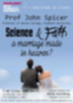 Science and Faith a Marriage Made in Heaven Poster