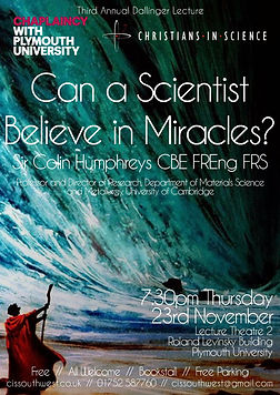 Can a Scientist Believe in Miracles Poster