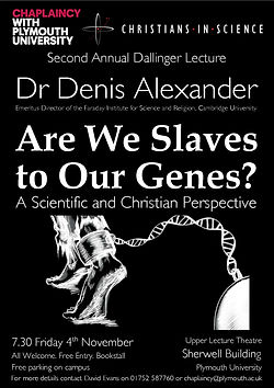 Are We Slaves to our Genes Poster