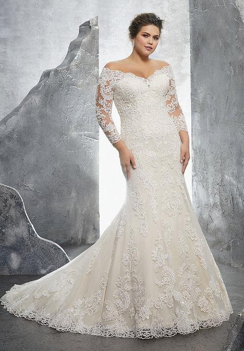 ML3231 Plus Size Dress