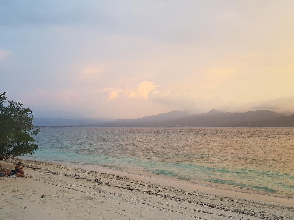 beach on Gili T