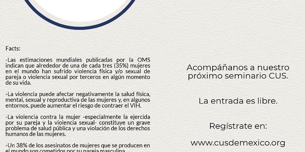 Seminario Violencia contra la Mujer.