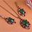 """Thumbnail: """"Zeina"""" - Classy Dark Emerald Set"""