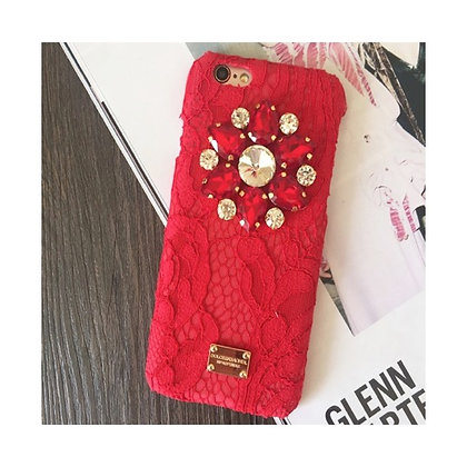 Dolce and Gabbana Inspired Ruby iPhone Case