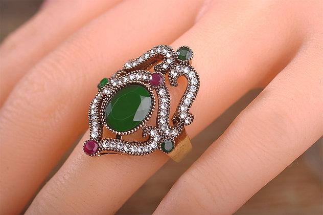 """""""Afet"""" - Royal Drop Ring"""