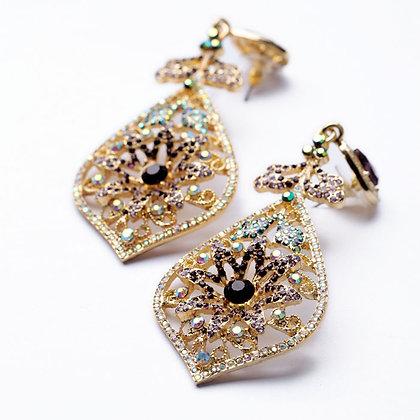 """""""Rahma"""" - Mega Sparkle Earrings"""