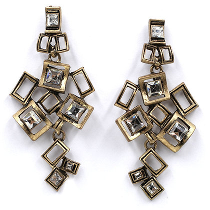 """Julie"" - Abstract Art Earrings"