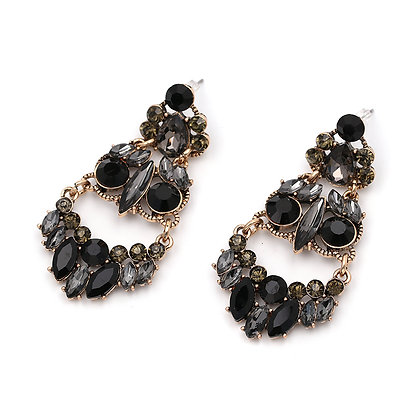 """Sina"" - Chandelier Statement Earrings"