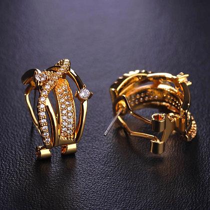 """""""Anza"""" - Cubic Zirconia Earrings"""