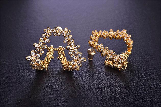 """""""Arz"""" - Flower Earrings"""