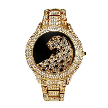Luxury Bold Swarovski Watch