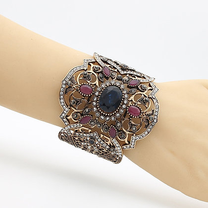 """Hira"" - Majestic Cuff Bangle"