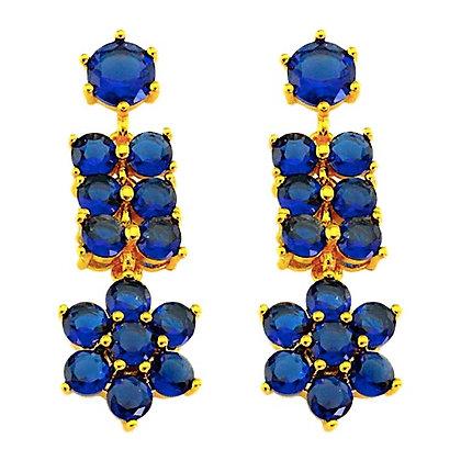 """Zoya"" - Sapphire Princess Earrings"