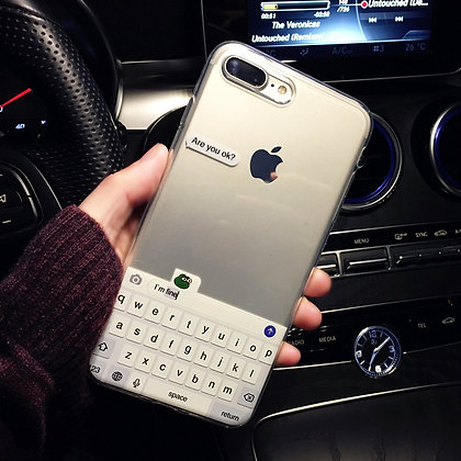 Texting iPhone Case