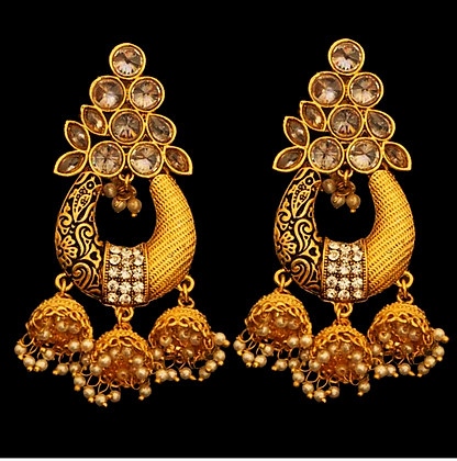 """Daima"" - Statement Earrings"