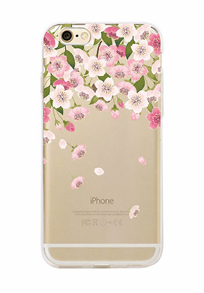 Falling Flowers iPhone Case