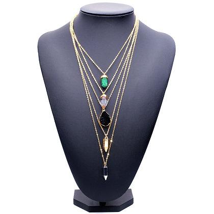 """""""Sara"""" - Boho Multilayered Necklace"""
