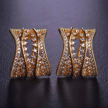 """""""Anaan"""" - Cubic Zirconia Earrings"""