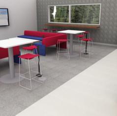Videoconferencing Lounge Render
