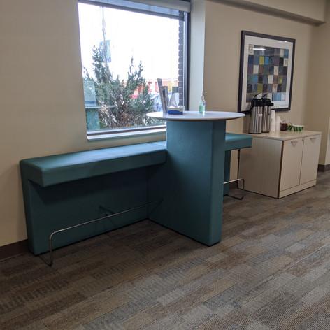 Coffee station + Perch lounge