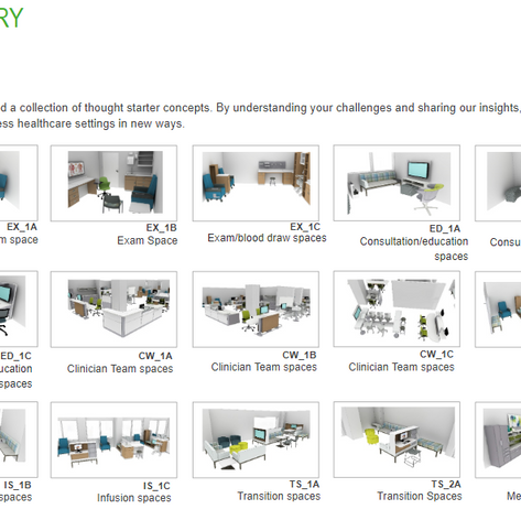 Furniture application concept overview