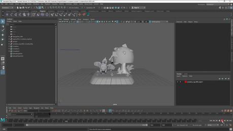 Cockatoo Animation - Steven Mitchell - Technical Art