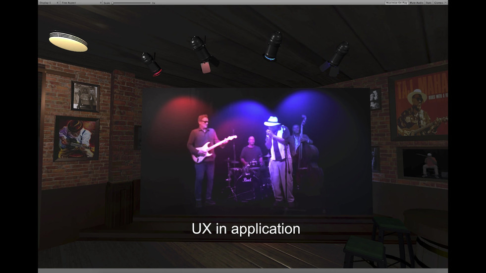 Lighting in Unity - Pub Blues Project -