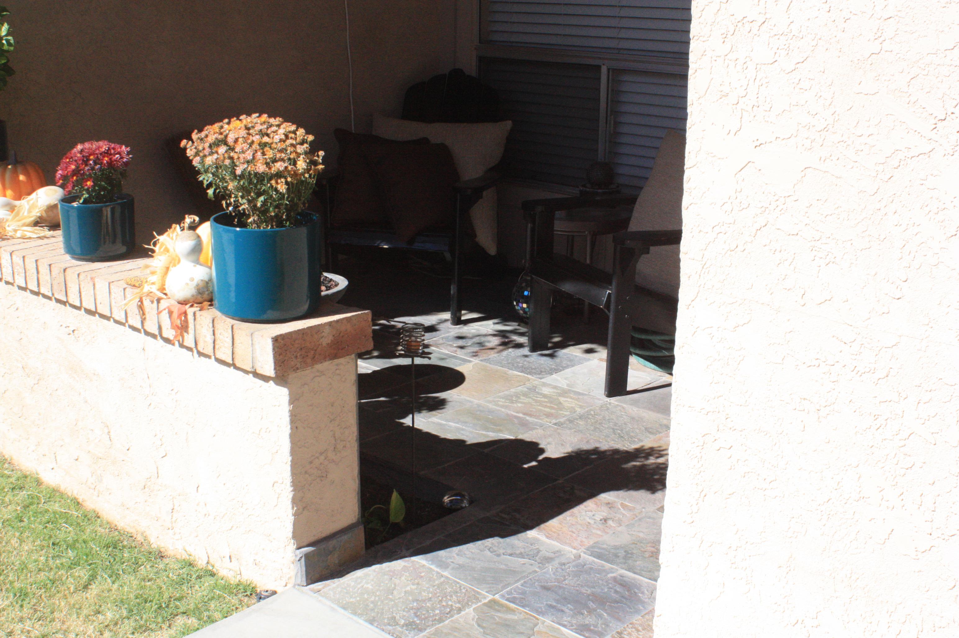 Slate tile patio - Photo 2