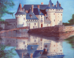 CHATEAU ON THE LOIRE RIVER