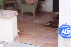 Saltillo Tile Patio