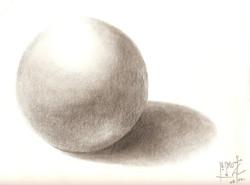 BALL ON A TABLE