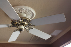 Patio Ceiling Fan & stereo speakers