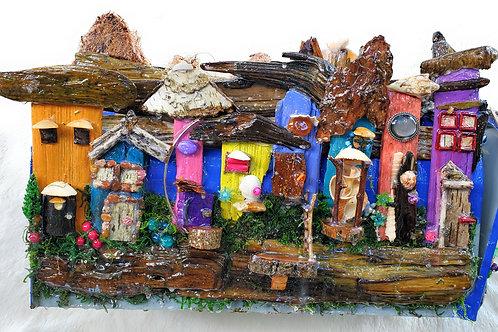 My Little Town Handmade Mailbox Sculpture