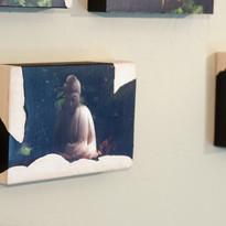 108 Buddhas, detail installation view