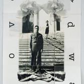 Love and War, folded encaustic book, 2008