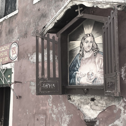 Sacred Heart of Communism, Venice