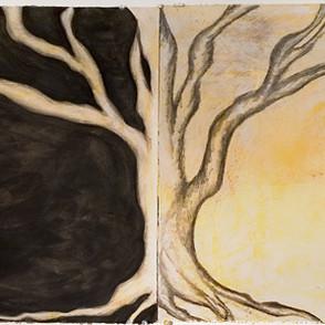 Tree Diptych, 2007
