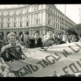 Women Against War Protest, Rome