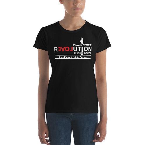 T-shirt à manches courtes femme