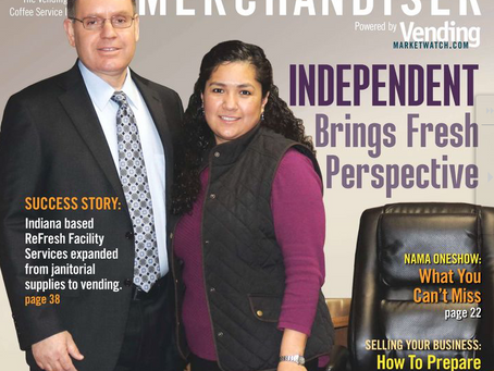 Mike Kelner featured in Automatic Merchandiser