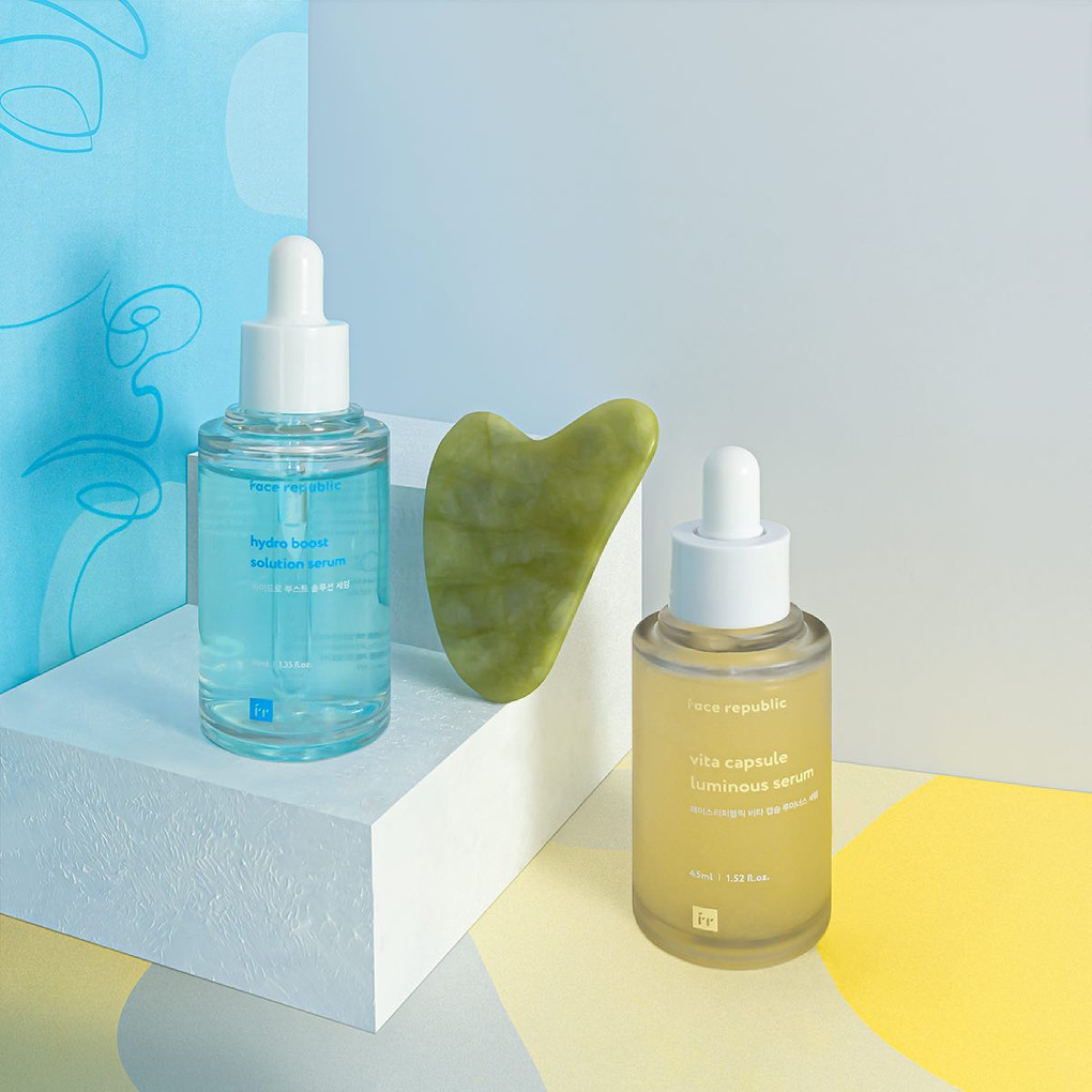 Face Republic Serums For AM and PM Skincare Routines
