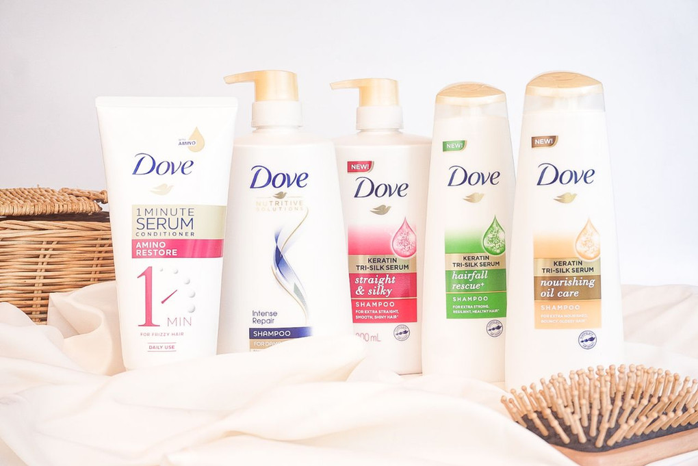 DOVE products are 50% OFF only on SHOPEE!