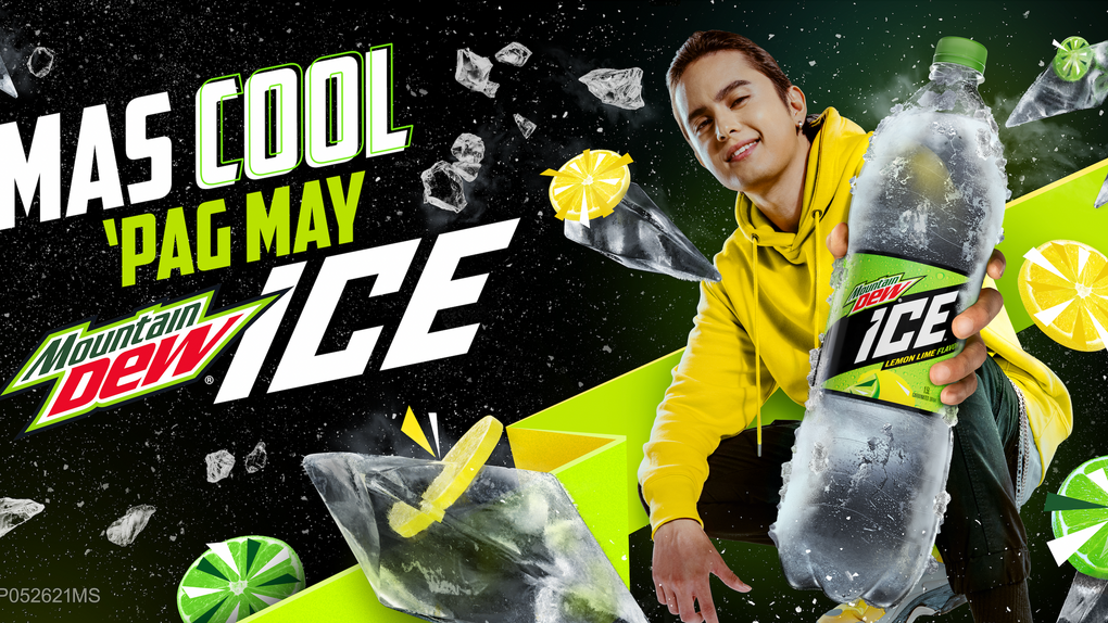 Mountain Dew Ice and James Reid Parodies Three Viral Videos 'Mas Cool' in their latest campaign