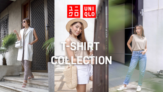 3 Ways To Wear UNIQLO's Soft & Elegant LifeWear Essentials T-Shirt Collection