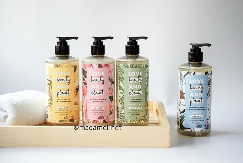 The All-New Love Beauty and Planet Liquid Handwash Line is Good for your hands and the planet