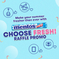 Win and choose exciting prizes when you #ChooseFresh with Mentos