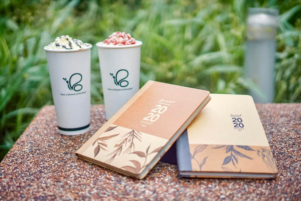 Serenitea Releases Holiday Drinks and 2020 Diary