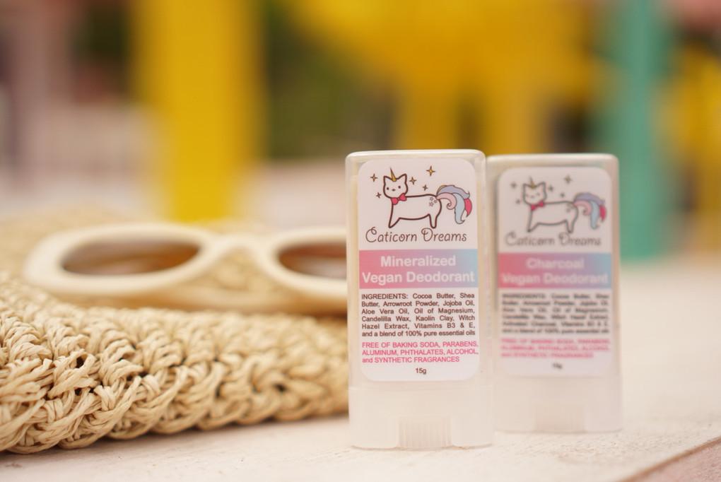 Product Review: Caticorn DreamsMineralized Vegan Deodorant